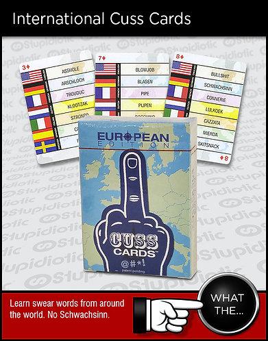 translation international curse cuss profanity