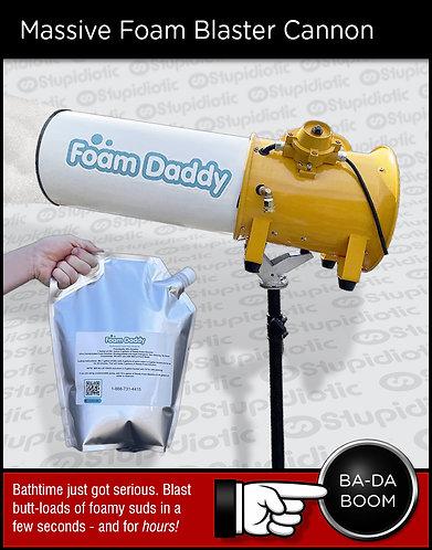 Foam Daddy Foam Cannon Bubble Blaster