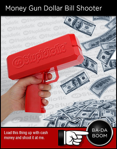 Money Gun Dollar Bill Shooter