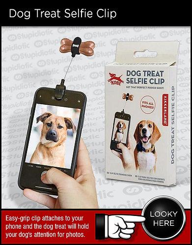 Pet Dog Treat Selfie Phone Clip