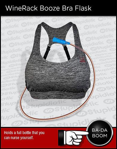 wine bra flash chest vest secret hidden