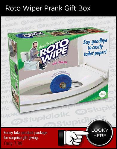 ROTO WIPER Prank Gift Box