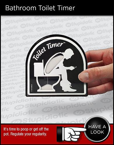 toilet bathroom sand timer