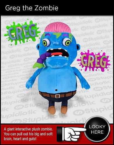 Zombie doll plush guts toy