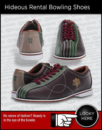 Hideous Rental Bowling Shoes