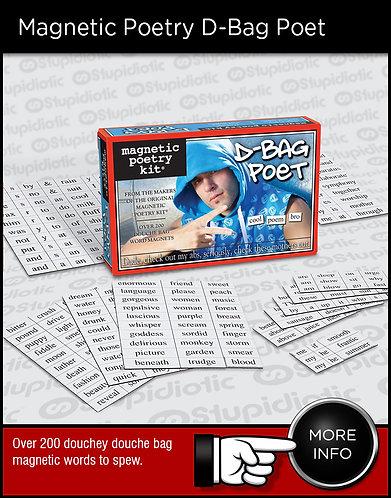 Magnetic Poetry D-Bag Poet Kit