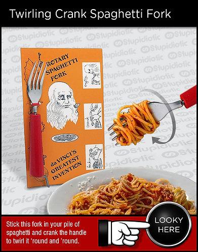 Twirling Spaghetti Fork Crank
