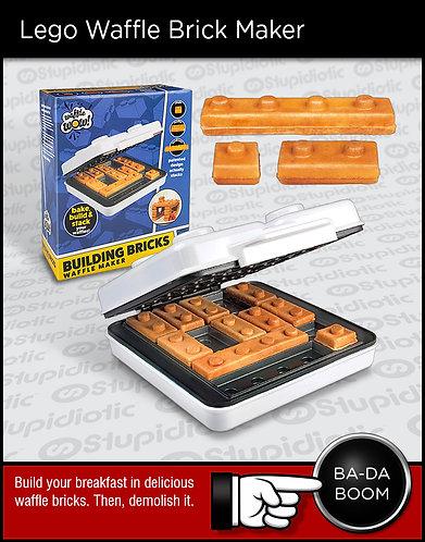 Lego waffle brick pancake maker hotplate