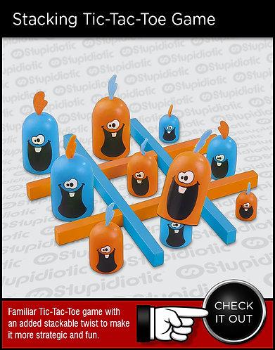 Gobblet Gobblers Stacking 3D Tic-Tac-Toe Game Set