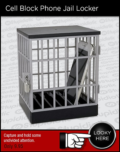 Cell Block Phone Jail