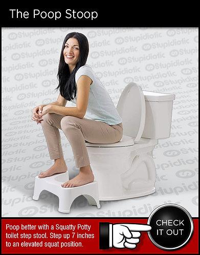Squatty Potty Toilet Foot Stool Step