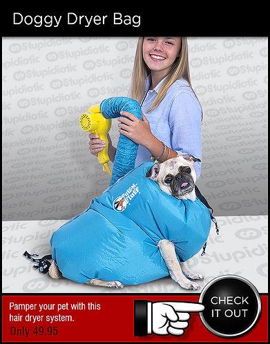 Puff-N-Fluff Doggy Dryer Bag System