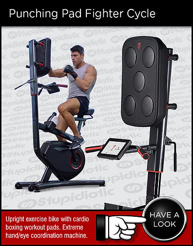 LifeSpan Fitness Cycle Boxer Upright Exercise Bike