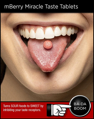 mBerry Miracle Taste Tablets