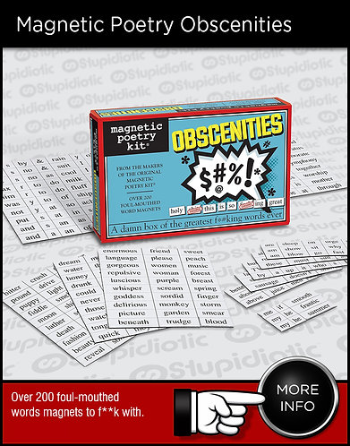 Magnetic Poetry Obscenities Kit