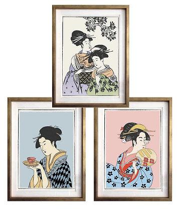 Japonesas (3 diseños disponibles) / Desde 25.000 c/u