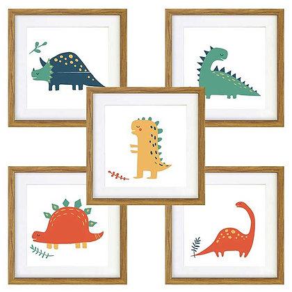 Dinosaurios (5 diseños disponibles) / Desde 20.000 c/u