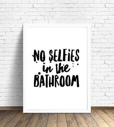 No selfie in the bathroom 2 / Desde 23.000