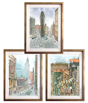 Nueva York (6 diseños disponibles) / Desde 40.000 c/u
