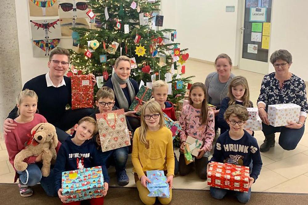 Weihnachts-Wichtelaktion 2019 Eltern-Kind-Zentrum Osdorf