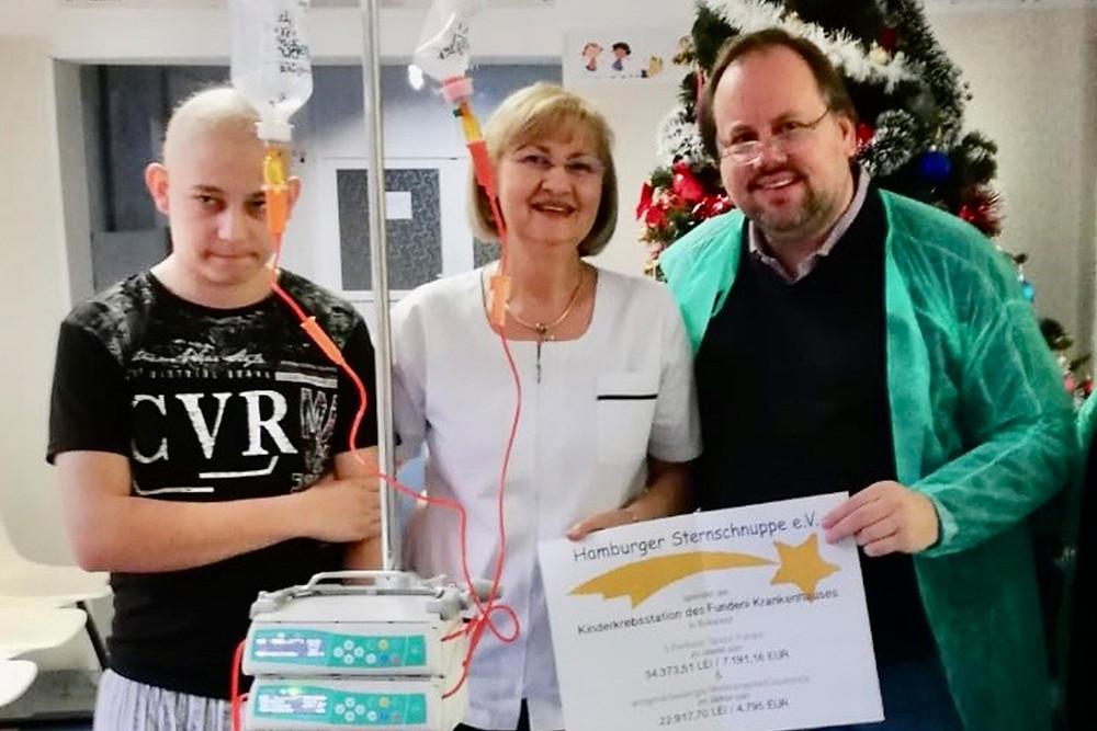 Spenden an das Fundeni Krankenhaus