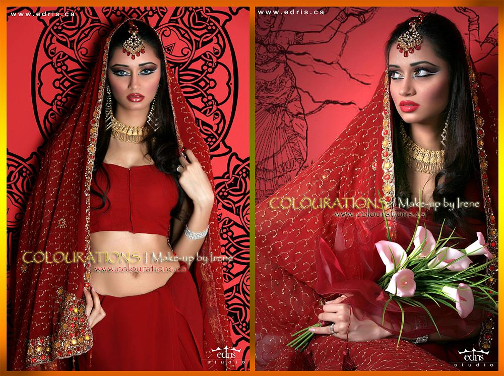 indian bridal makeup and hair gta