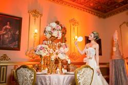 luxury bridal wedding