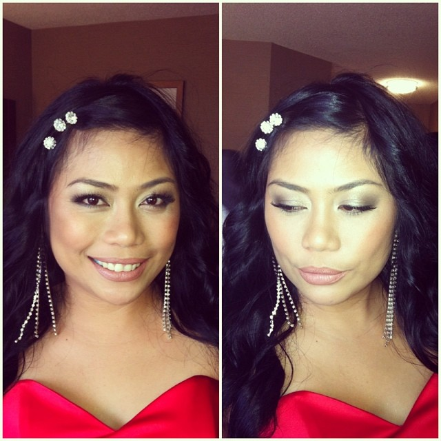 toronto filipino makeup artist