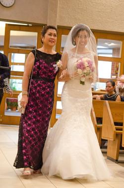 filipino bride makeup and hair