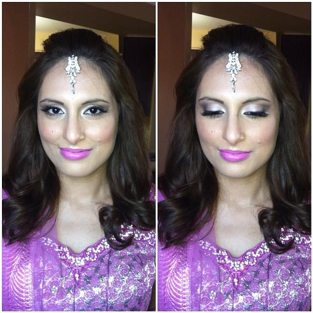 toronto indian makeup artist