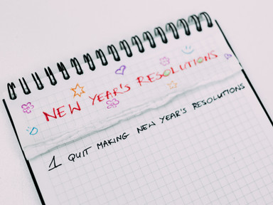 Enough with New Year Resolutions!