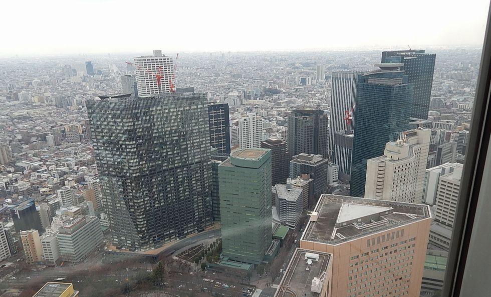 都庁展望台からの景色
