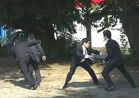 警護の退避訓練を実施
