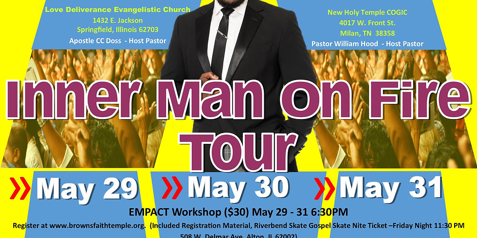 Inner Man On Fire Conference