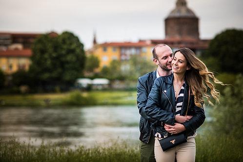 """SERVIZIO FOTOGRAFICO di coppia """"Engagement"""""""
