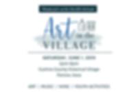 ArtInTheVillage_2019_4x6Card.png