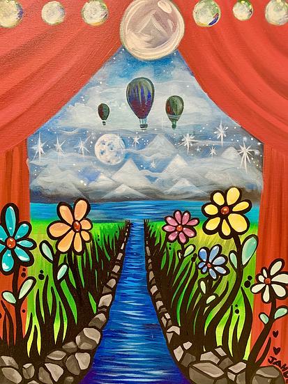 Custom Kids room paintings