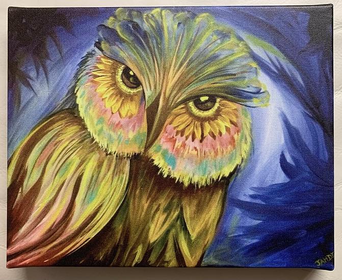 Sunflowl Canvas Print