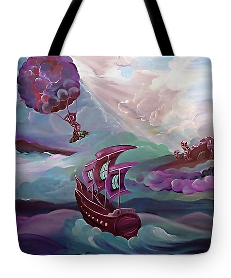 """Tote bag of """"Nomads Journey"""" (Size: 16""""x 16"""")"""