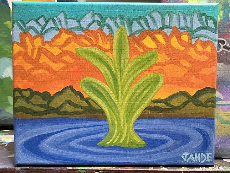 "Original Painting ""New Beginnings"""