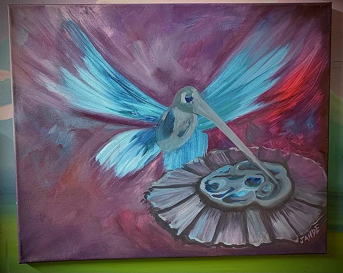 "Original Painting of ""Sweet summer"""