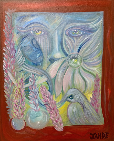 "Original Painting of ""Soft"""