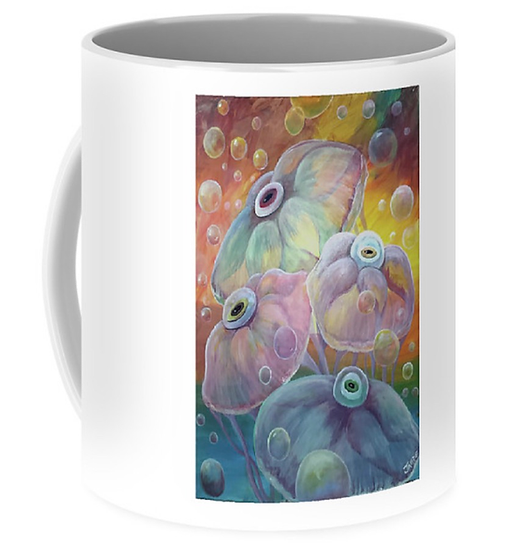 """Cup of """"Rainbow Jellies"""" (Size: 11 oz)"""