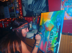 """""""Your a jewel"""" Jahde painting live"""