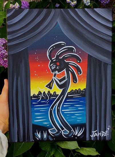 """""""Joyful"""" Canvas Print  (11""""x14"""")"""