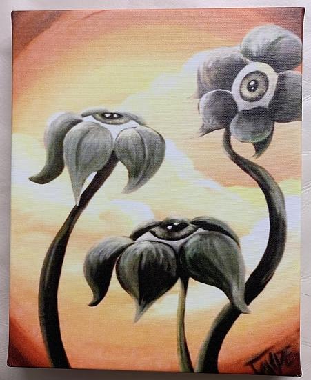 Eyeris Canvas Print
