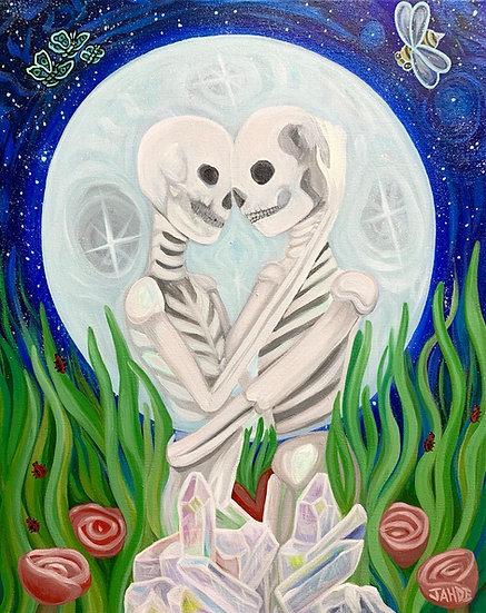 "Canvas Prints of ""Eternal Love"""