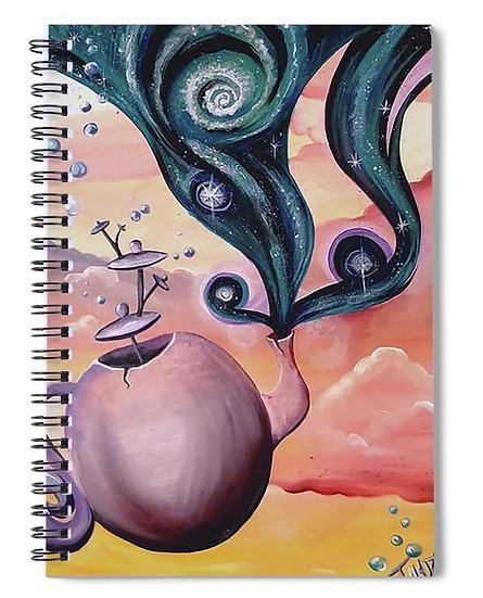 "Notebook of ""Magic Tea"""