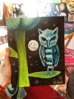 mini moon owl