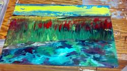 tie dye river